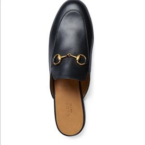 Authentic Gucci Princetown leather mules